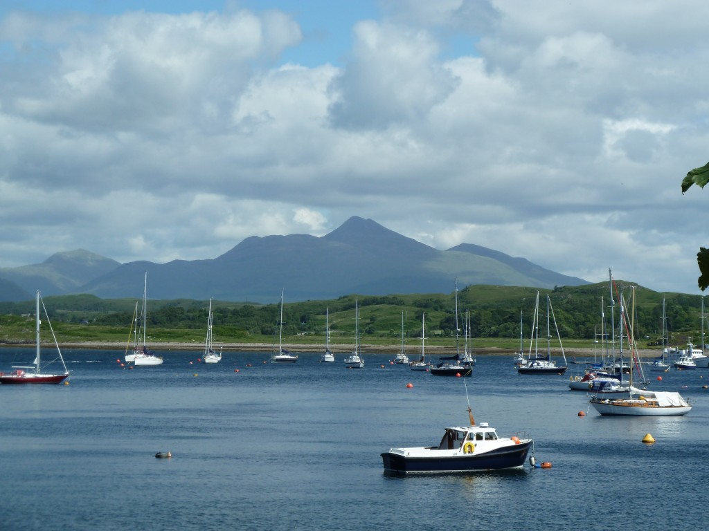 Cruachan from Dunstaffnage