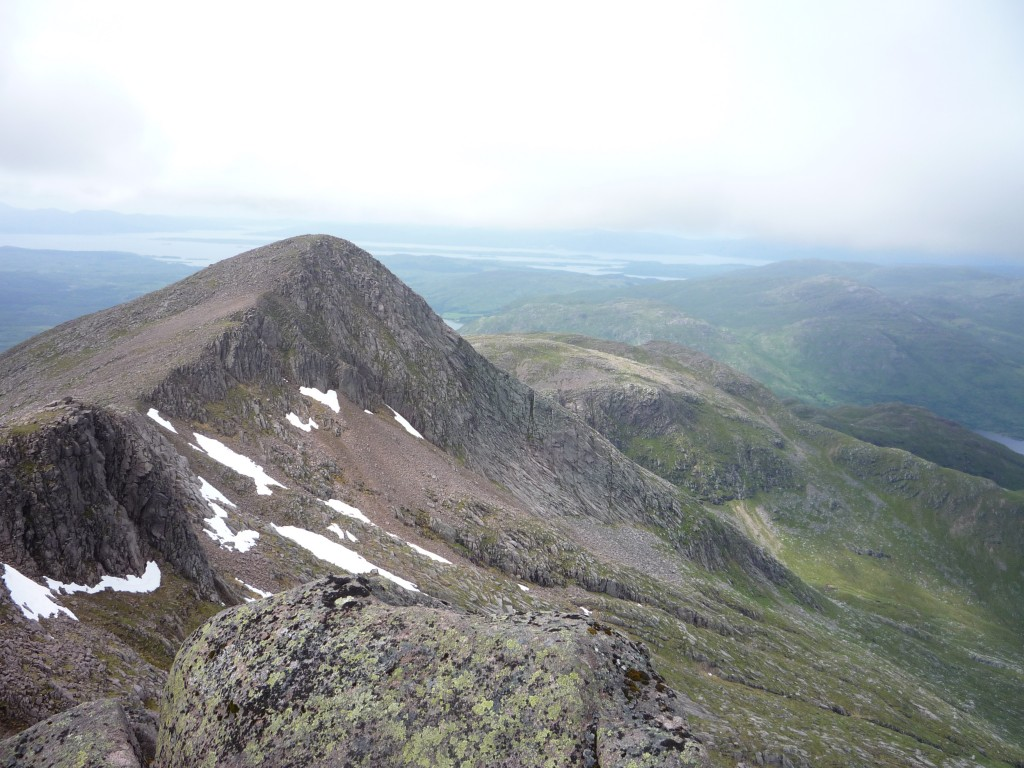 Rocky peak of Stob Dearg, West of Cruachan.