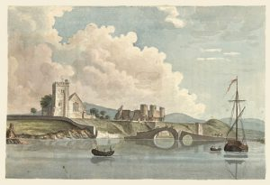 Rhuddlan church and castle