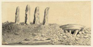 Standing stones.
