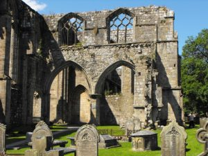 The ruins of Bolton Abbey, Wharefdale, Yorkshire, not far from where I live