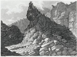 Edward Pugh, 'Paris Mines in the year in 1800' (Llyfrgell Genedlaethol Cymru)
