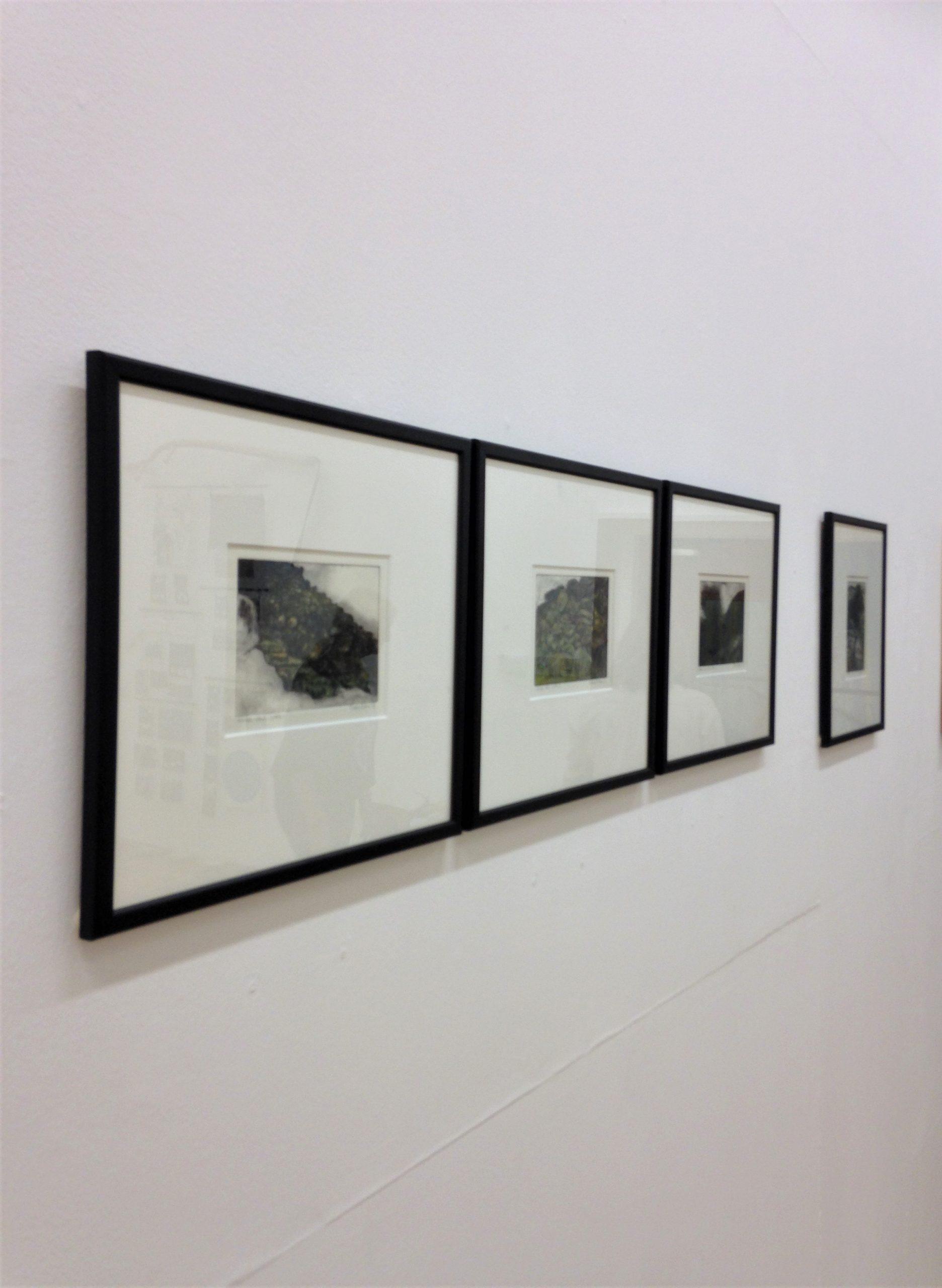 Stuart Evans - etchings Oriel Sycharth